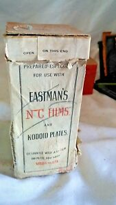 Eastman-KODAK-Co-ACID-FIXING-POWDER-1-LB-BOX-MOSTLY-EMPTY-SOLD-FOR-DISPLAY