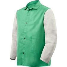Steiner Weldlite Plus Hybrid 3 Xl Welding Jacket Leather Sleeves 1230 3x
