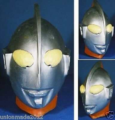 ULTRAMan Party Rubber Mask Head face Costume Anime Cosplay Halloween ultra man