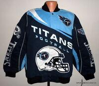 Tennessee Titans Kick Off Twill Blue Jacket - Size - Xxl Free Shipping Nfl