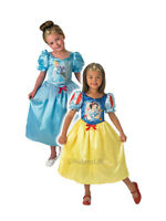 Child Disney Princess Cinderella To Snow White Outfit Fancy Dress Costume