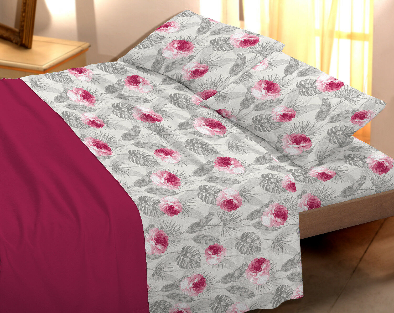 Completo lenzuola stampato piazza singolo 1 piazza, 1 piazza stampato e mezza e matrimoniale 8bca1d