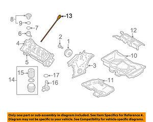 volvo oem 05 11 xc90 4 4l v8 engine oil fluid dipstick 30720238 ebay rh ebay com 2006 Volvo XC90 V8 Diagram of Engine Volvo XC90 Engine
