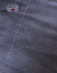 Details About Dark Grey Lvt Luxury Vinyl Click Flooring Tiles Charcoal Slate Waterproof 4 0mm