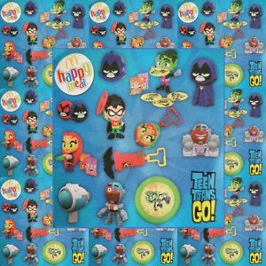 McDonalds-Happy-Meal-Toy-2019-UK-Teen-Titans-Complete-Set-12-Toys