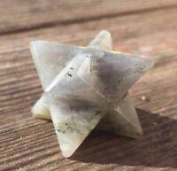 Natural Labradorite Gemstone Merkaba Star (one) - Buy It Now