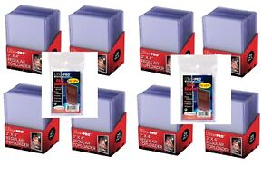 200-Ultra-Pro-3x4-Toploaders-and-Sports-Trading-Card-Topload-Holders-Sleeves