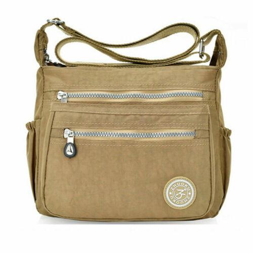 Women/'s Satchel Shoulder Bag Messenger Cross Body Waterproof Canvas Handbag Tote