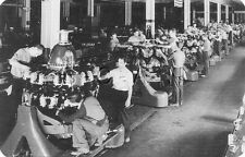 WWII US Large (7 x 4.5) Photo Image PC- Ford Advertising War Bonds- Engine Plant
