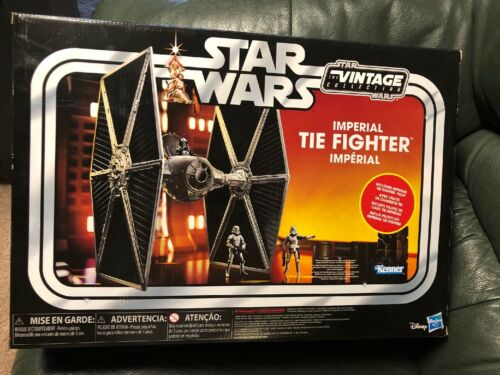 Star Wars Vintage Collection Imperial Tie Fighter Vehicle Walmart *Exclusive*