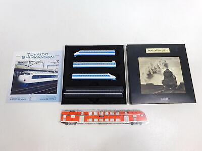 Diplomatico Ca782-0, 5# Minitrains Atlas Traccia Z Fittizio E-lok Tokaido Shinkansen, Neuw + Ovp-mostra Il Titolo Originale Sapore Fragrante (In)