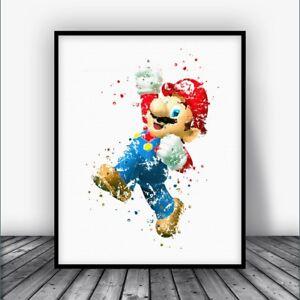 Mario-Bros-Mario-Art-Print-Poster
