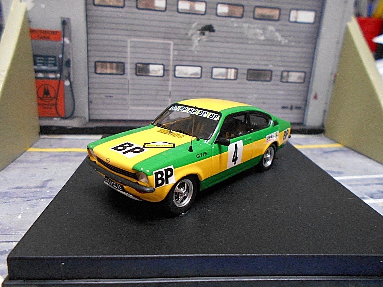 Opel Kadett C GT E coupé rallye mille pistes  4 Clarr 1976 winner Trofeu 1 43