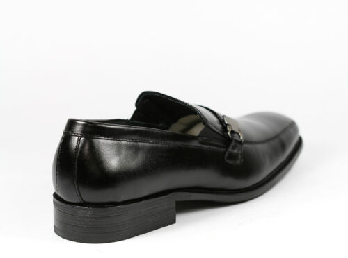 Delli Aldo Men/'s Slip On Buckle Strap Loafers Shoes w// Leather Lining M-19131