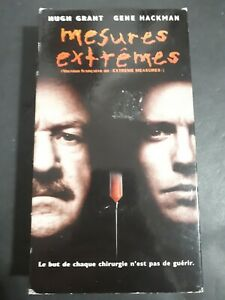 Extreme-Measures-Mesures-Extremes-VHS-French-Version-1997-Horror-Thriller