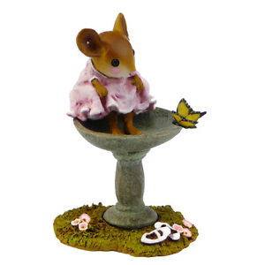 Wee-Forest-Folk-Miniature-Figurine-M-394-Garden-Spa