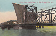Green Bay, WI - Largest Single Bascule Lift in the World