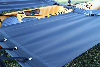 Hobie  Tandem Island Kayak Trampoline set Black mesh Expedition Series
