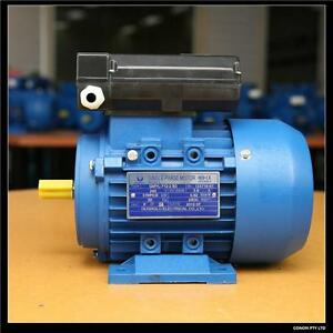 0 37kw 0 5hp 1400rpm Electric Motor Single Phase 240v