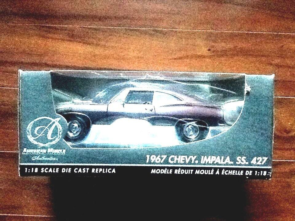 Ertl 1 18 American Muscle Authentics 1967 Chevrolet Impala SS 427 Artículo Nº 39298