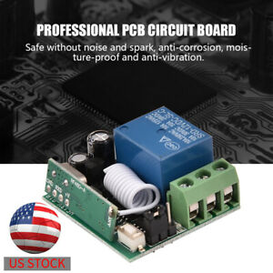 1Ch-DC-12V-Relay-Module-Wireless-Remote-Control-Switch-Transmitter-Receiver
