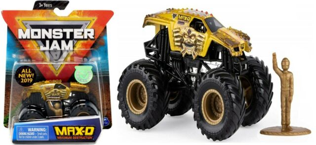 Monster Jam Metal Truck 1 64 Toy Race Grave Digger Ages 3 Toy Play Gift Car Fun For Sale Online