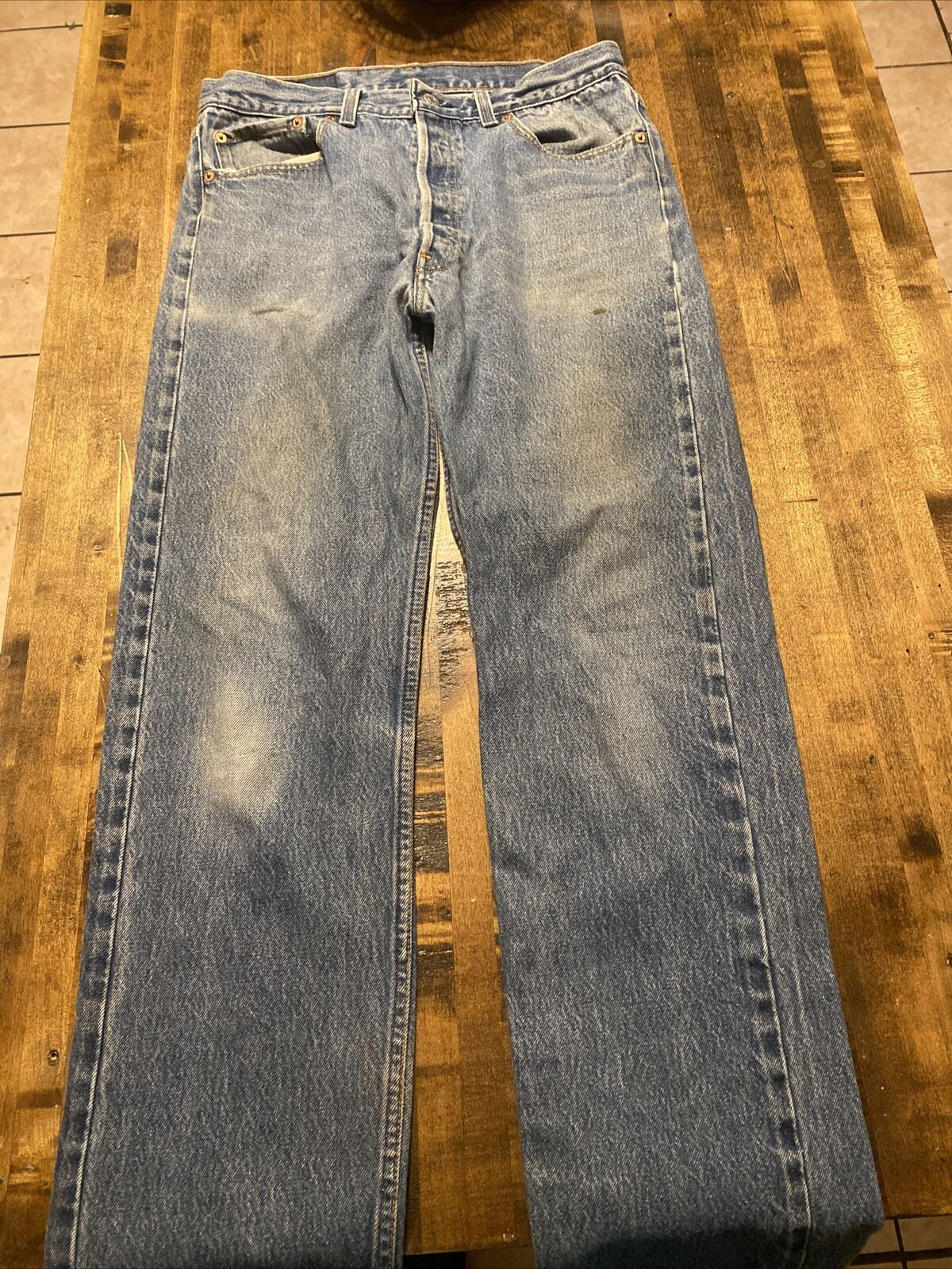 vintage levis 501xx made in usa 35x36 Fits 32x32 - image 4