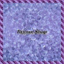 25 Perles de boheme goutte 9x6mm coloris Alexandrite