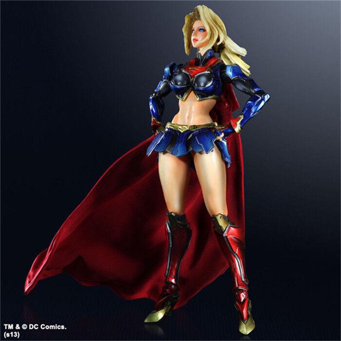 Square Enix Jugar Arts Kai Dc Comics súpergirl Modelo Juguete Figura De Acción De Pvc