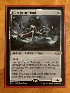 1x Foil Elder Deep-Fiend Eldritch Moon Prerelease Promo