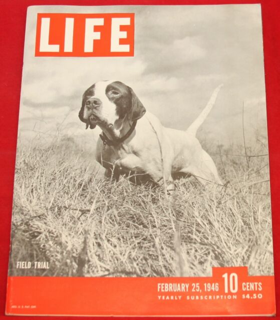 Life Magazine February 25, 1946 Lincoln, Rock Island RR Near Mint Condition