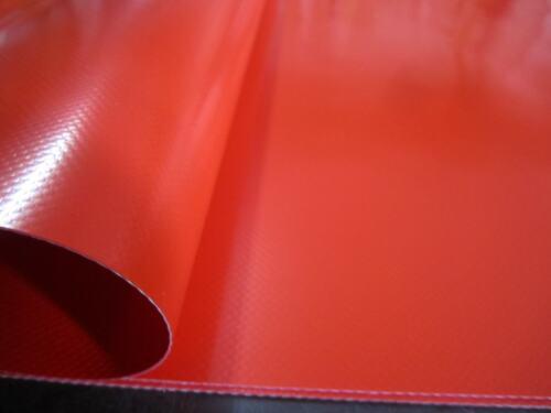 Abdeckplane Hochwertige LKW Plane PVC Rot 3.80 x 2.50 ca 680 gr//²