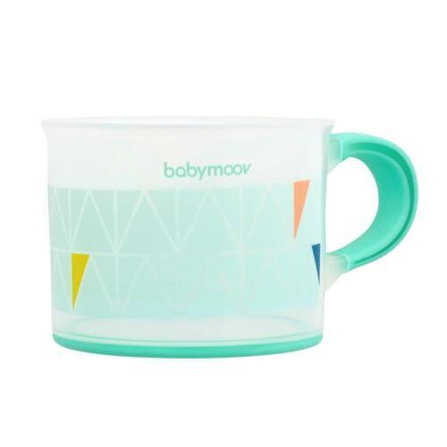 Babymoov antideslizante taza naranja verde