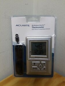 AcuRite Thermometer Backyard Weather Temperature Humidity ...