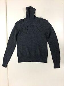 Worth-women-039-s-gray-long-sleeve-turtle-neck-warm-formal-winter-sweater-size-M