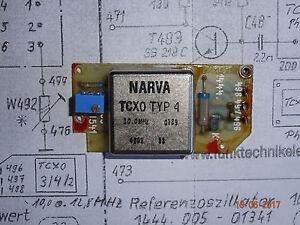 TCXO-10-0-Mhz-Typ-4-Narva-auf-Leiterplatte-geprueft