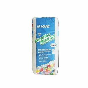 Image Is Loading Mapei Keraflex Maxi S1 White Adhesive Ceramic Porcelain