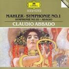 Sinfonie 1 Der Titan/Sinfonie 10:Adagio von WP,Claudio Abbado,CSO (1995)