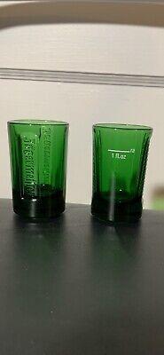 Jagermeister Shot Glass Green 6PK