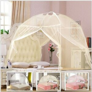 1PC-Portable-Folding-Mesh-Bed-Canopy-Dome-Tent-Mosquito-Net-Three-Colors-Choices