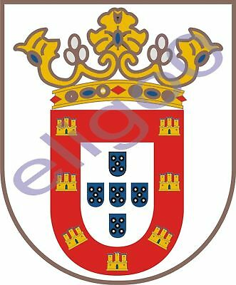 1x STICKER Escudo de Melilla COAT OF ARMS Spain decal