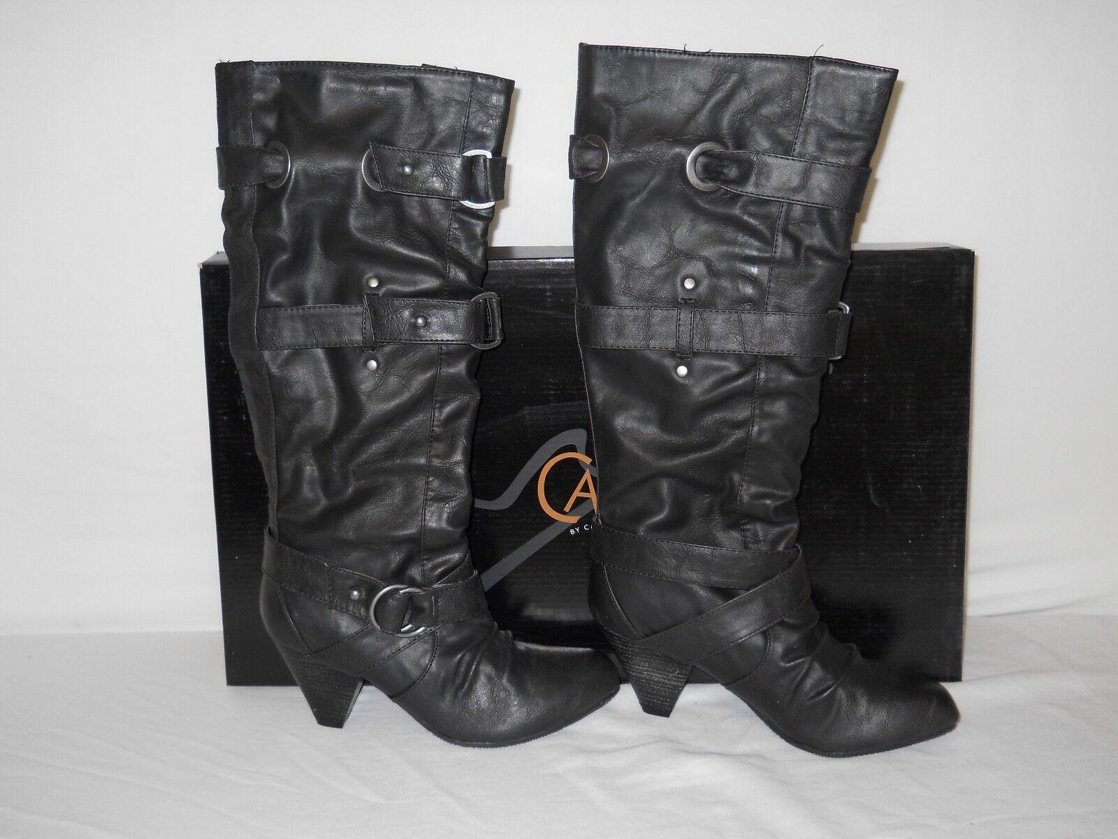 Carlos Santana New Womens Bailey Black Boots 6 M Shoes NWB