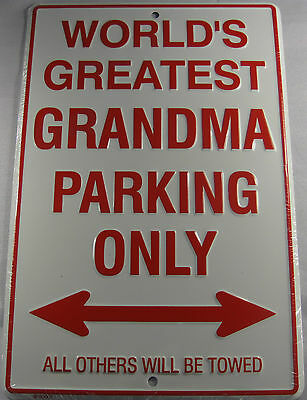 PRINCESS PARKING ONLY SIGN CROWN METAL 8X12 INCHES NEW L700