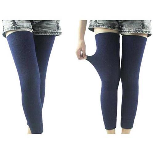 Thick Leg Warmers Women Men Unisex Winter Warm Knee Length Elastic Socks HO