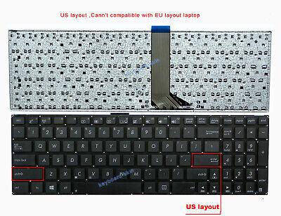 Genuine New Asus X502 X502C X502CA Laptop US Keyboard Black no frame