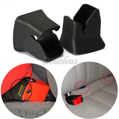 2pcs Universal Car Auto Seat Safety Child Buckle Fixed Guide Car ISOFIX Buckle