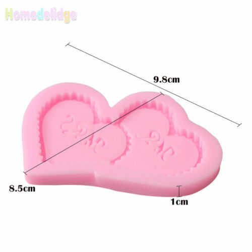 3D Silicone Fondant Mold Cake Decorating Candy Chocolate Sugarcraft Baking Mould