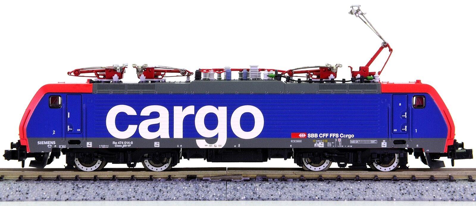Minitrix 12327 – Sistema di più-Elektrolok BR 474 delle SBB Cargo