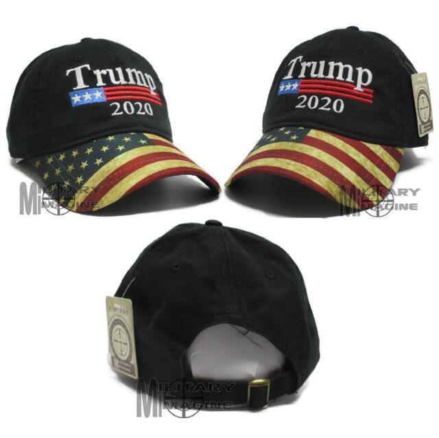 69349c1ba0bd59 Donald Trump Black Cap USA Flag Keep America Great Maga hat President 2020