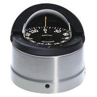 Ritchie Dnp-200 Navigator Compass Binnacle Mount Polished Stainless Steel/black